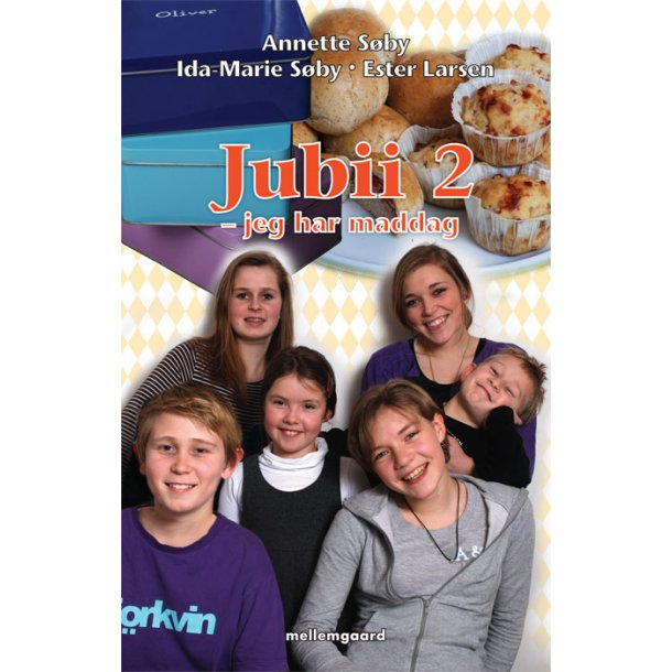 Jubii 2 - jeg har maddag - E-bog